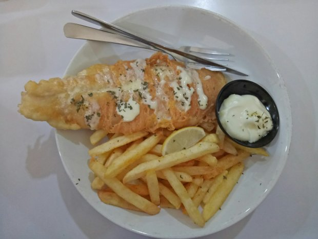 Fish and chips ala Fish Streat